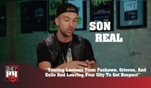 SonReal - Touring Lessons From Fashawn, Grieves, And Exile And Leaving Your City To Get Respect (247HH Exclusive) (247HH Exclusive)