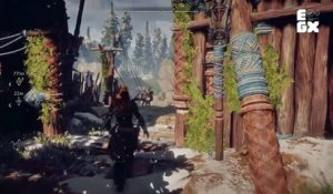 Horizon Zero Dawn 19 minutos EGX 2016 Gameplay PS4