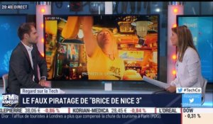 "Regard sur la Tech: Faux piratage du film ""Brice de Nice 3"" - 17/10"
