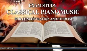Giovanni Umberto Battel - Exam Study: Classical Piano Music for Concentration and Studying