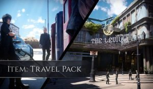 FINAL FANTASY XV- PreOrder DLC - Travel Pack (fuel ticket and hotel)