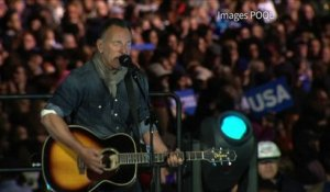 Springsteen et Obama à Philadelphie pour Hillary Clinton