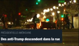 Les manifestations anti-Trump se multiplient