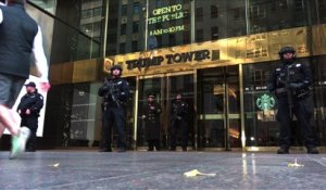 Nouvelle attraction touristique à New York: la Trump Tower