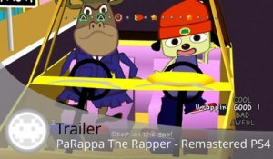 Trailer - PaRappa The Rapper (Le Remastered sur PS4 !)