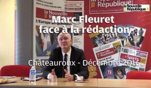 VIDEO. Marc Fleuret face à la rédaction