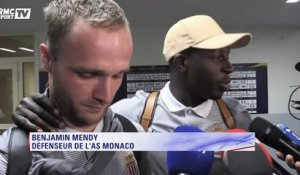 Mendy et Germain : ''On est maintenant tourné sur le match contre le PSG''