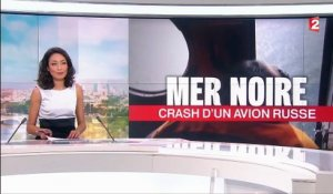 Mer Noire : crash d'un avion russe