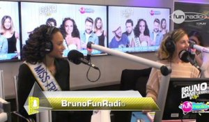 Alicia Aylies, Miss France 2017 chez #BrunoFunRadio - Bruno dans la Radio