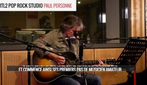 "Paul Personne - ""I Can't Hold Out"" en RTL2 Pop Rock Studio"