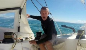 D62 : Sebastien Destremau is back in the race / Vendée Globe