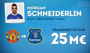Officiel : Morgan Schneiderlin signe à Everton !