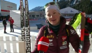 Biathlon - Coupe du monde (F) - Mass Start Anterselva : Dorin-Habert «Ça m'agace»