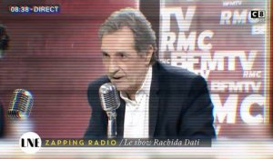 Zapping Radio : Le show Rachida Dati dans Bourdin Direct