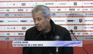"Ligue 1 - Favre : ""Un bon point"""