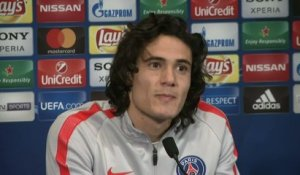 Foot - C1 - PSG : Cavani «Si on s'impose, ce sera collectivement»