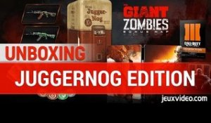 UNBOXING Call Of Duty Black Ops III - JUGGERNOG EDITION - FR