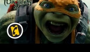 Ninja Turtles 2 - teaser 2 - VF - (2016)