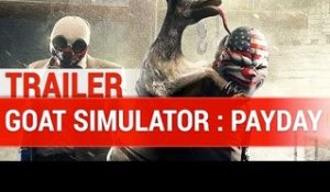 GOAT SIMULATOR : Payday Trailer DLC - Gameplay