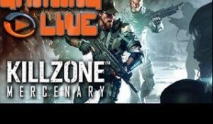 Gaming live Ps Vita - Killzone Mercenary - Mercenaire suicidaire