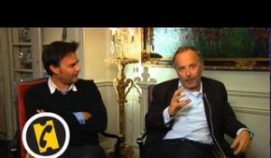 Interview Fabrice Luchini - Dans la maison - (2012)