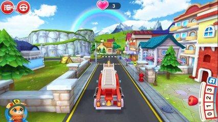 Pompier Dessin Anime Francais Camion De Pompier Pompier D Animaux De Compagnie Sur Orange Videos