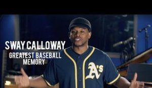 Sway Talks Greatest Baseball Memory