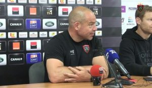 Avant-match Toulon/Castres : Richard Cockerill