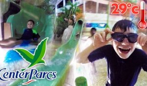 VLOG - PARC AQUATIQUE CENTER PARCS - TOBOGGANS & FUN À L'AQUA MUNDO