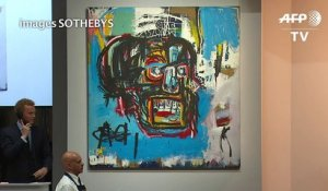 A New York, un Basquiat vendu 110,5 millions de dollars