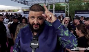 DJ Khaled Thanks His Son Asahd for Executive Producing His Next Album | Billboard Music Awards 2017