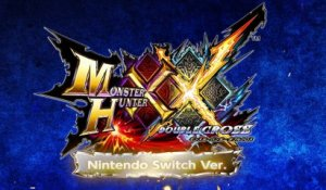 Monster Hunter XX sur Switch : premier trailer