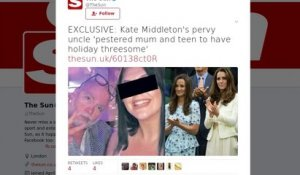 Kate Middleton : le comportement de son oncle fait scandale