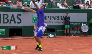 point de folie au tennis (roland garros)