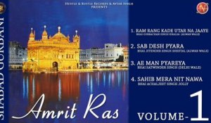 Various - Amrit Ras Volume 1 - Latest Shabad Gurbani 2017