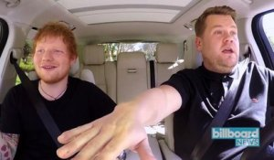 Ed Sheeran To Appear on 'Late Late in London' Edition of 'Carpool Karaoke' | Billboard News
