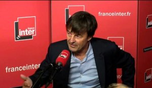 "Nicolas Hulot : ""Inexorablement, on est en train d'écrire le futur."""