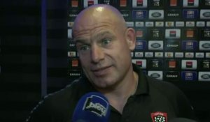 Rugby - Top 14 - Finale : Cockerill n'a pas de regrets