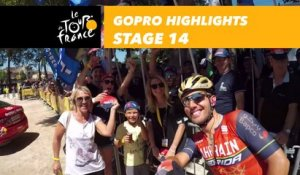 GoPro Highlight - Étape 14 / Stage 14 - Tour de France 2017