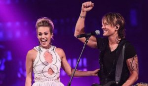 Keith Urban & Carrie Underwood Steal the Show Performing 'The Fighter' at CMT Music Awards 2017 | Billboard News