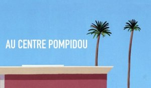 Exposition « David Hockney » au Centre Pompidou