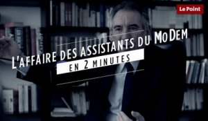 L'affaire des assistants parlementaires du MoDem en 2 minutes