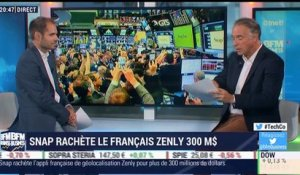 Regard sur la Tech: Snap rachète la start-up française Zenly - 22/06