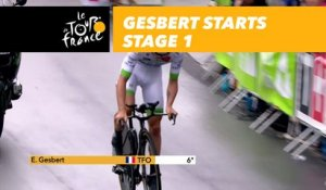 Elie Gesbert - Étape 1 / Stage 1 - Tour de France 2017