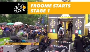 Froome- Étape 1 / Stage 1 - Tour de France 2017