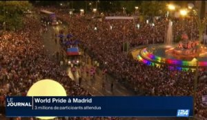 World Pride à Madrid: 3 millions de participants attendus