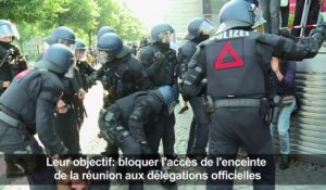 Hambourg: violents affrontements en marge du G20