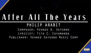 Philip Arabit - After All The Years (Official Lyric Video)
