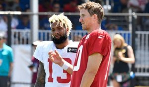 Jones: McAdoo, Manning not concerned about losing chemistry with OBJ
