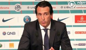 La réaction d'Unai Emery